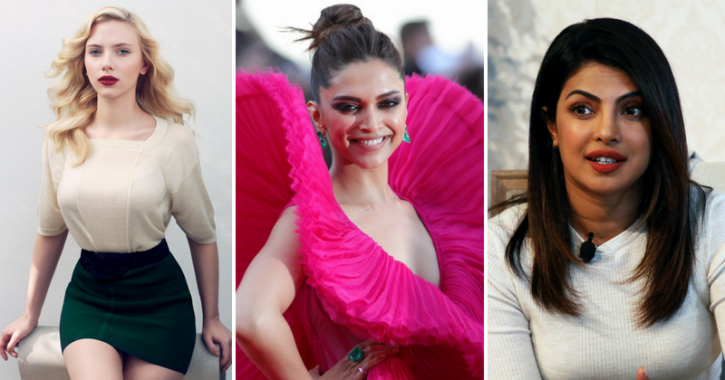 Scarlett Johansson Tops Forbes List Of Highest Paid Actresses, Priyanka & Deepika Out Of Top 10