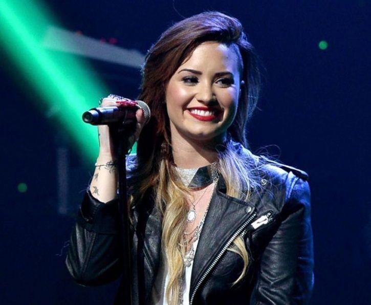 Singer-actress Demi Lovato