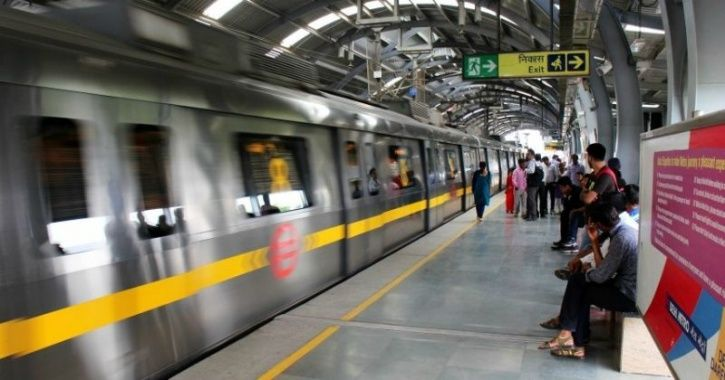 Special Metro Train With Photos Of Freedom Fighters To Spread The Message Of Patriotism