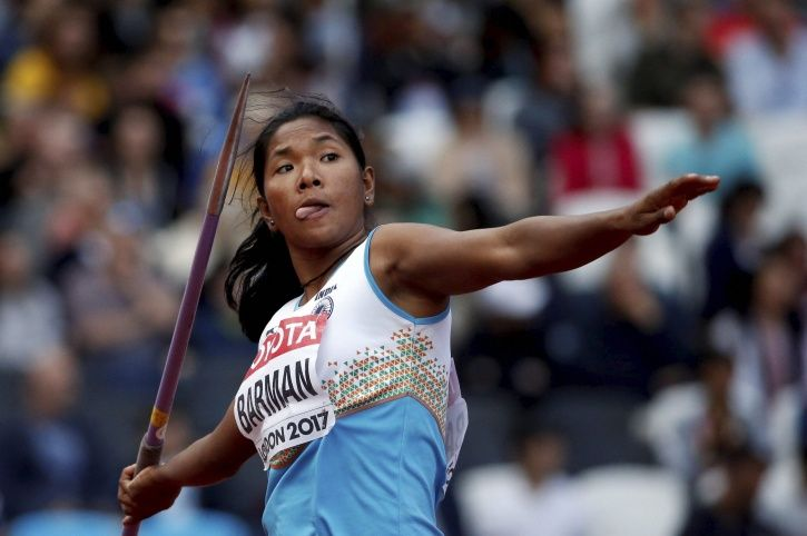 Swapna Barman accumulated 6026 points