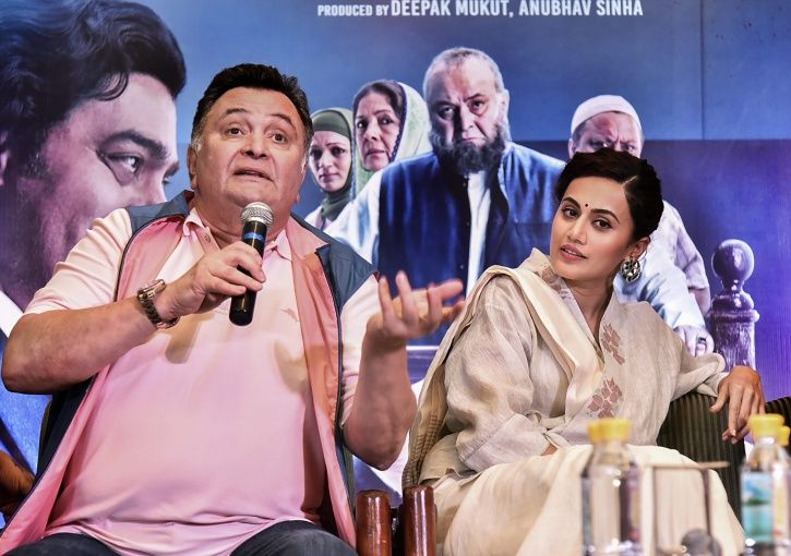 Taapsee Pannu Clarifies Mulk Presents 'Patriotism & Nationalism', Doesn't Criticise Any Community