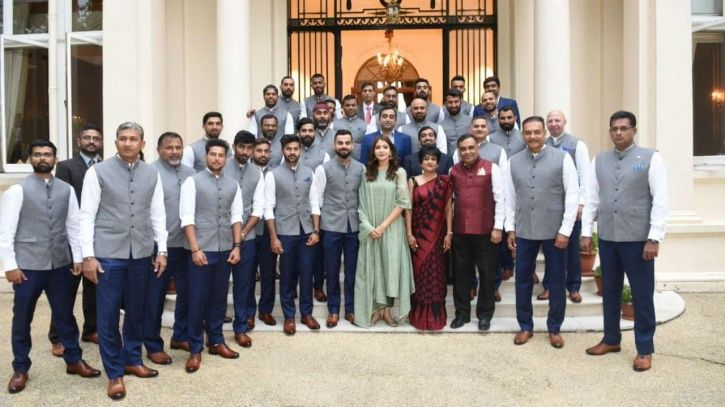Team India paid a visit to the Indian High Commissioner in London ahead of their 2nd Test vs England