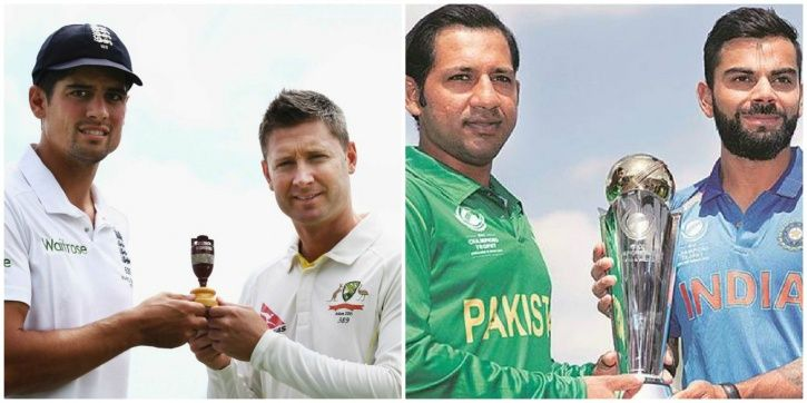 The Ashes and India vs Pakistan are two fierce cricket rivalries