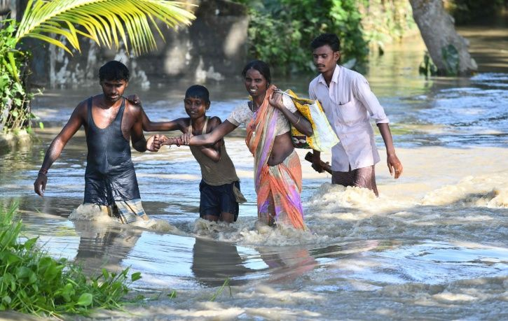 Thousands Of People In 116 Districts In Assam Left Homeless After Dam Releases Excess Water