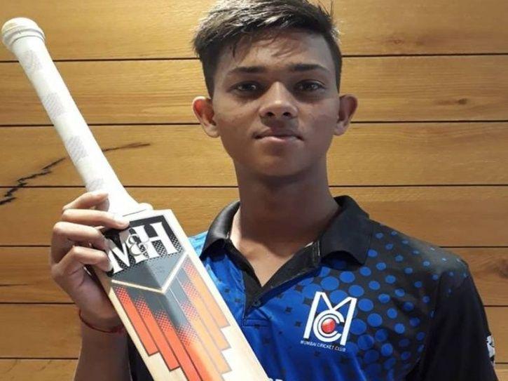 Yashasvi Jaiswal made his debut for India U-19 vs Sri Lanka