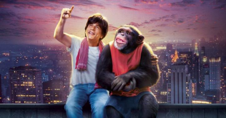 A still from Shah Rukh Khan