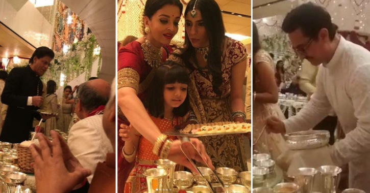 Abhishek Bachchan Explains Why Celebs Served Food At Isha Ambani-Anand Parimal's Wedding