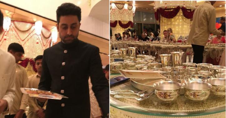 Abhishek Bachchan Explains Why Celebs Served Food At Isha Ambani's Wedding