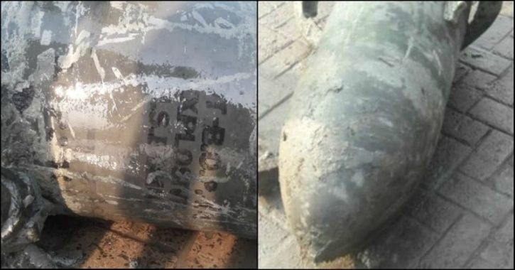 Aerial Bomb Weighing 453 Kilos From World War 2 With US Army Markings Unearthed In Kolkata