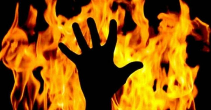 Alcoholic Son Sets Mother Ablaze After She Refuses To Give Him Money; Inhuman Video Goes Viral