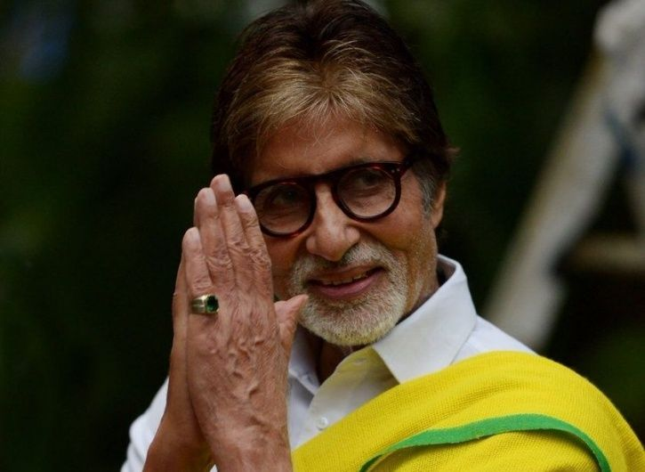 Amitabh Bachchan donates money for the welfare of senior citizens.