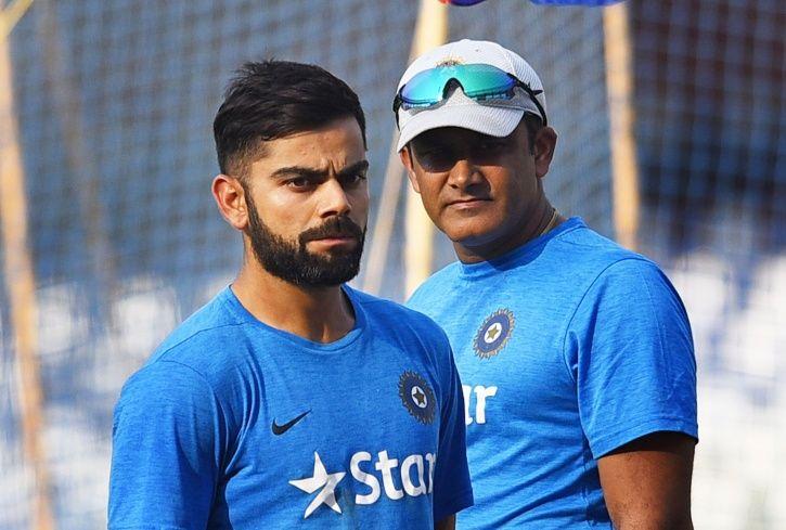 Anil Kumble quit in 2017