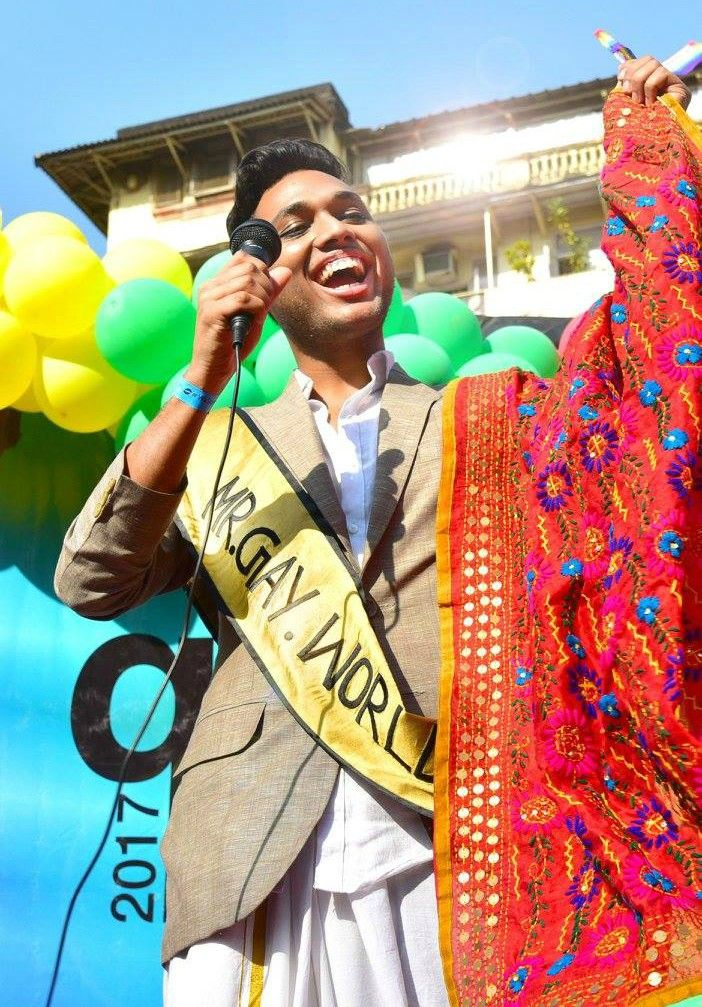 Anwesh Sahoo, Mr Gay World India 2016, LGBTQ, 2018, schools, NIFT, pride, jobs Photo:Facebook/Anwesh