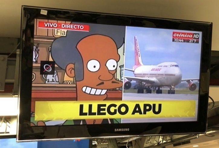 Apu Arrives