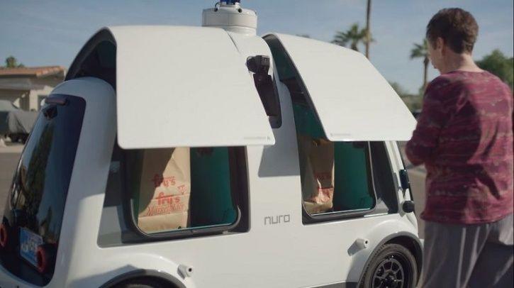 Autonomous Delivery Service, Driverless Delivery Service, Logistics, Autonomous Technology, Kroger,