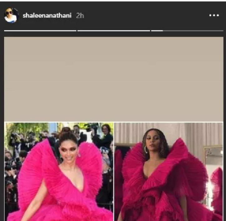 Beyonce Recreates Deepika Padukone's Iconic Look From Cannes & We Can't Decide Who Pulled It Off Bet