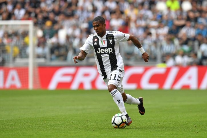 Douglas Costa plays for Juventus