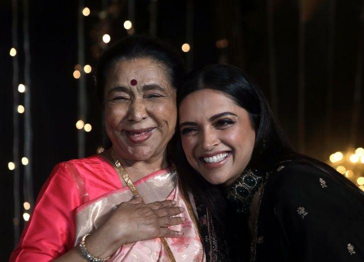 DP and Asha Bhosle Nickyanka
