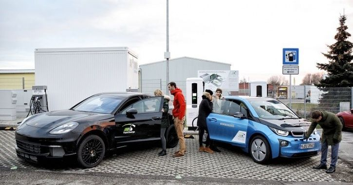 Electric Vehicle, BMW, Porsche, Charging Stations, Superchargers, Technology News, Auto News