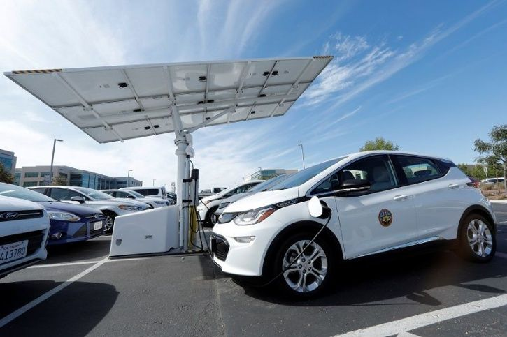 Electric Vehicles, Solar Charging, EV Charging Infrastructure, Solar Energy, Green Energy, Technolog
