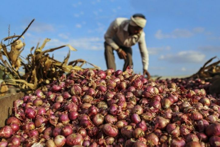 Farmers Produces 2,657 Kg Of Onion Crop, Earns Only Rs 6 And Sends It To CM Fadnavis