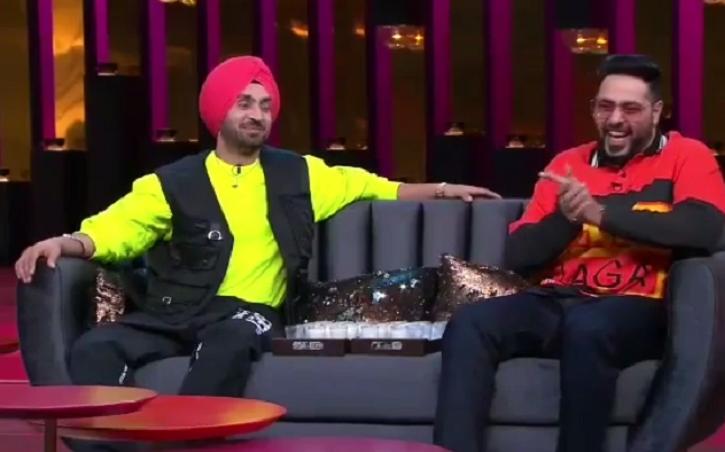 Fun-Jabi Boys Diljit Dosanjh & Badshah Promise A Laughter Riot As They Sip 'Koffee' With Karan