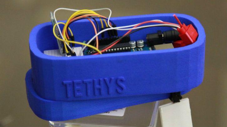 Gitanjali Rao Tethys water testing device