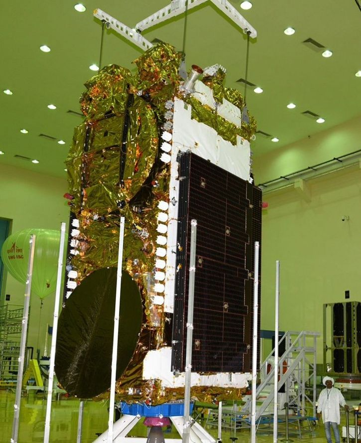 heaviest satellite gsat 11