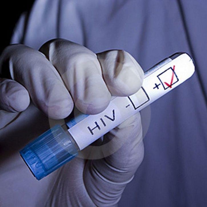 HIV positive woman
