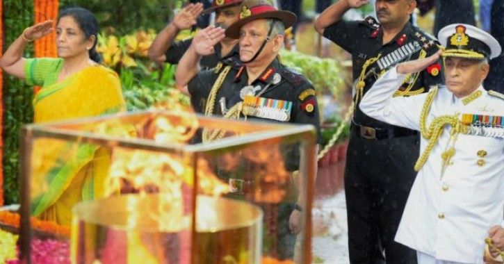 honouring soldiers