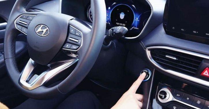 Hyundai, Hyundai Fingerprint Technology, Fingerprint Access, Hyundai 2019 Santa Fe SUV, China Auto S