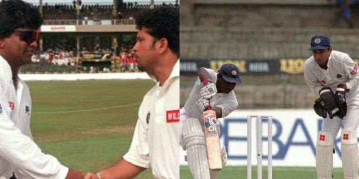 India and Sri Lanka played an exhibition