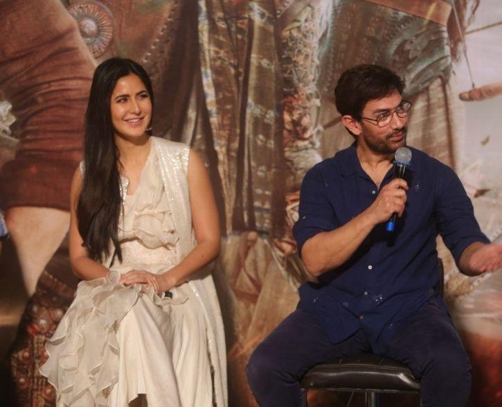 Katrina Kaif and Aamir Khan at Thugs Of Hindostan