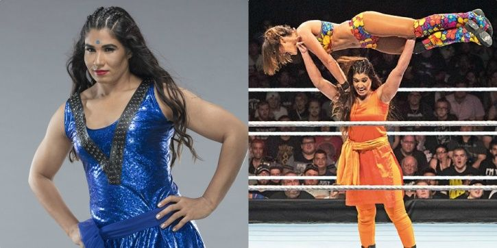 Kavita Devi is looking to become WWE Championq