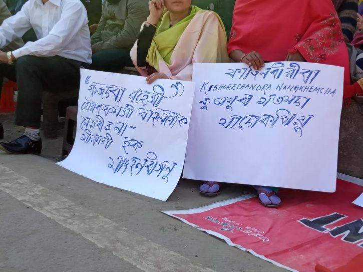 Kishorchandra Wangkhem Journalist