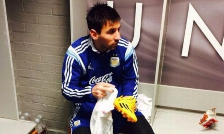 Lionel Messi is s humble man