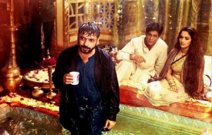 Madhuri Dixit and SRK