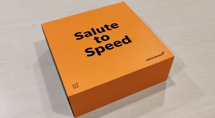 McLaren OnePlus 6T