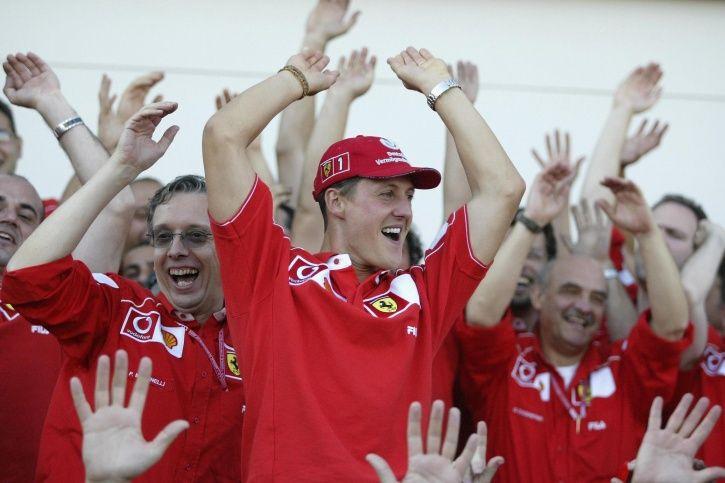 Michael Schumacher is a legend