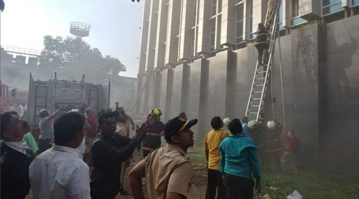 Mumbai hospital, fire, food delivery boy, Swiggy,  Sidhu Humanabade, rescue, patients