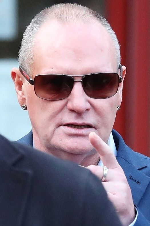Paul Gascoigne is in the news for the wrong reasons