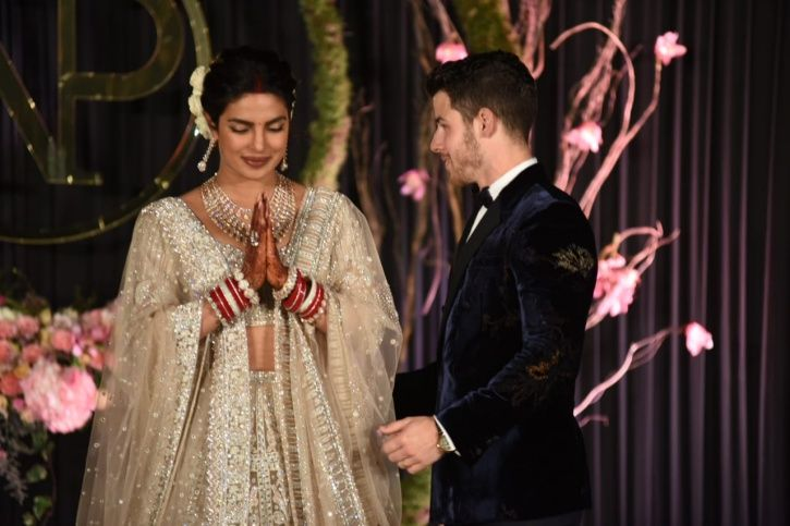 Presenting Mr & Mrs Jonas! Priyanka Chopra & Nick Arrive At Their Wedding Reception In Delhi