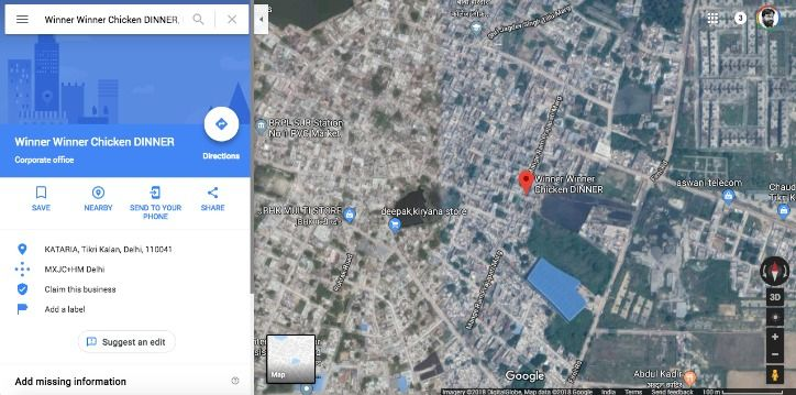 PUBG Mobile Google Maps