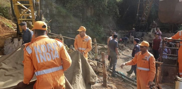 Rescuers, scuba divers, Meghalaya, miners, K Sangma, coal mining, NGT