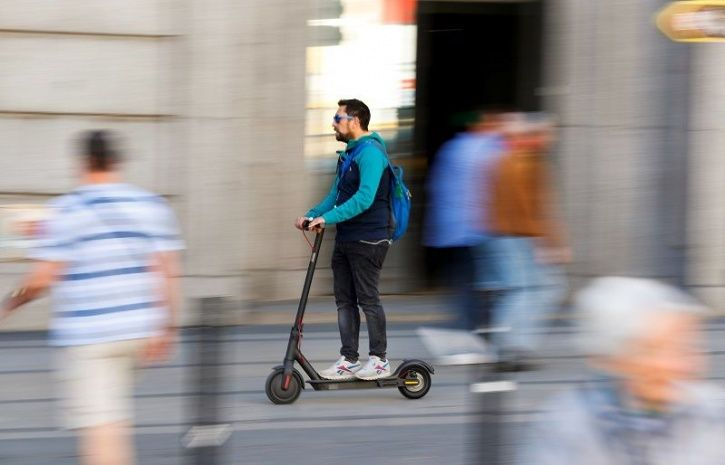 Self Healing Electric Scooter, Superpedestrian, MIT Startup, Micro Mobility, Electric Scooter, Techn