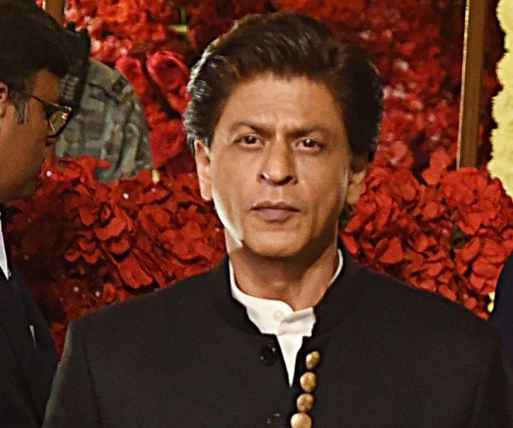 Shah Rukh Khan at Ambani bash.