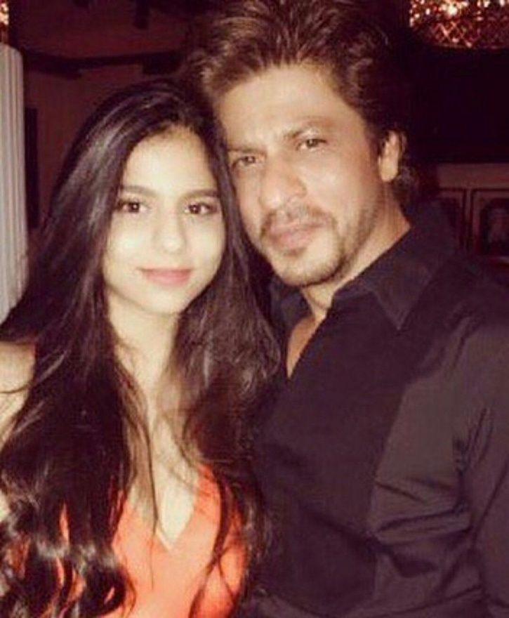 Shah Rukh Khan with Suhana Khan