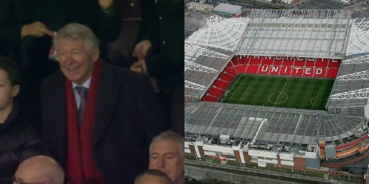 Sir Alex is well loved