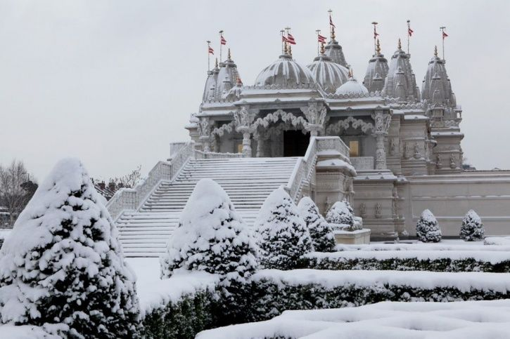 Swaminarayan Gadi Sansthan, Church, Virginia, United States, Toronto, temple