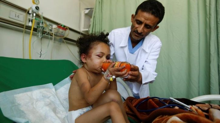 This Little Girl, Whose Entire Family Was Wiped Out In Airstrike, Is The Symbol Of Yemen War